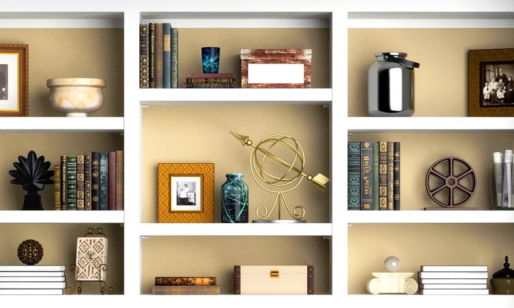 Decoración De Estanterías Colores Fotos Libros Klausroom
